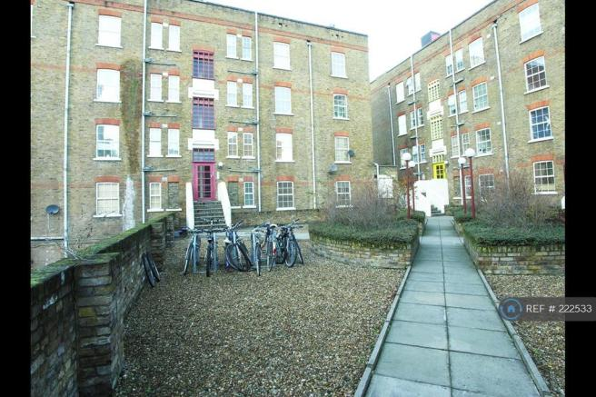 View Of Building From Secure Courtyard