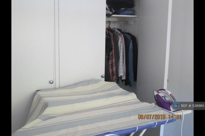 Quality Ironing Board, Iron, Built-In Wardrobes