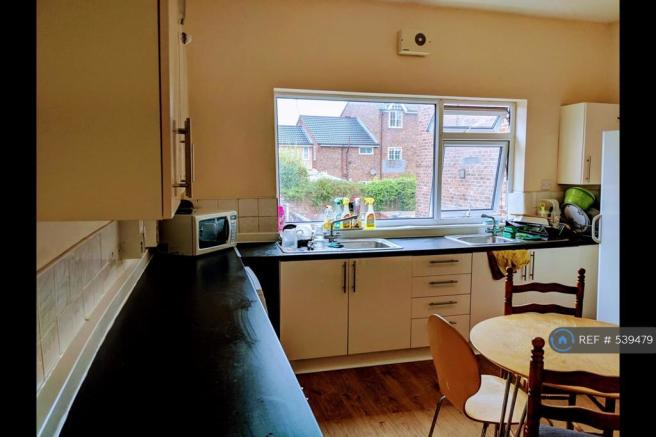 1 Of The 2 Shared Kitchens