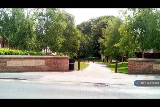 Hall Garth Park Across The Road