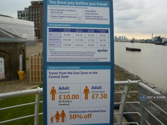 Prices For Boats To Central London