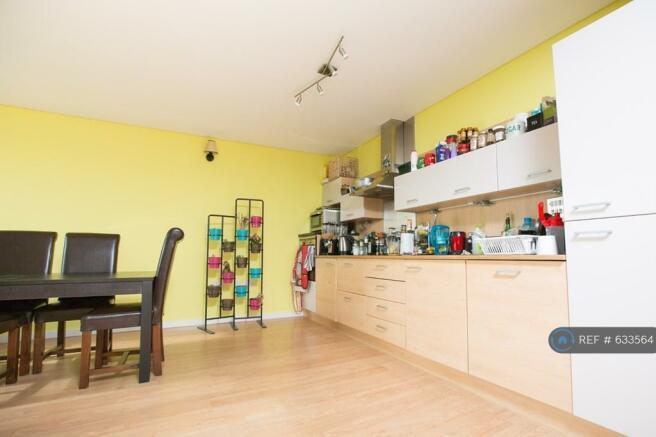 Open Plan Kitchen/Dining.