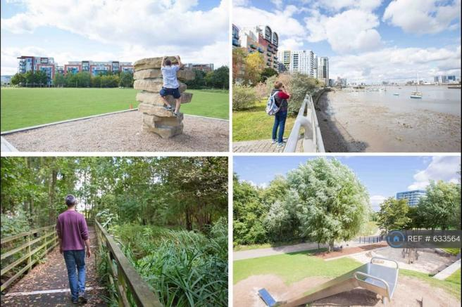 Park, Nature Reserve, Playground And Thames Path.