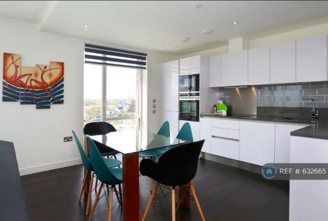 Dining And Kitchen Area - Blinds Open