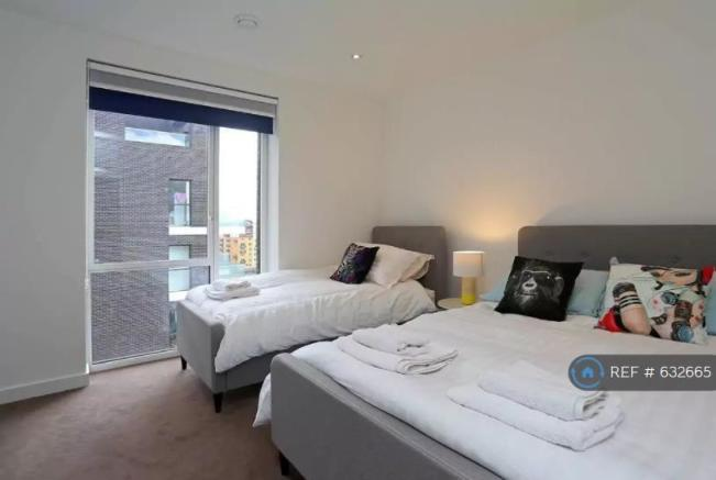 Second Bedroom - Single And Double Beds