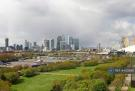 Day View From Balcony To Canary Wharf And O2