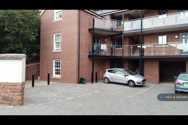 First Floor Flat With Balcony