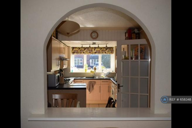 Arch Between Living Room And Kitchen