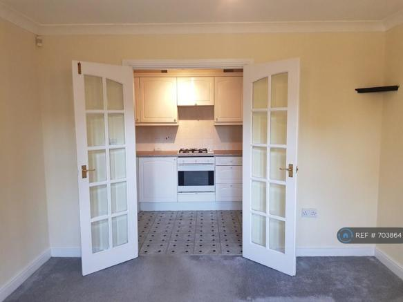 Lounge Leading To Kitchen
