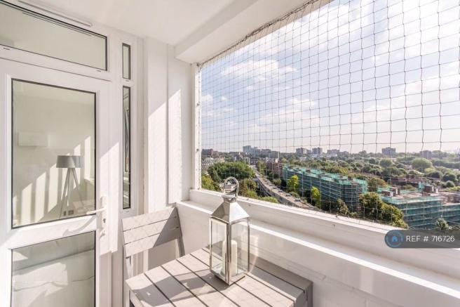 Private Balcony - Spectacular Views Of London