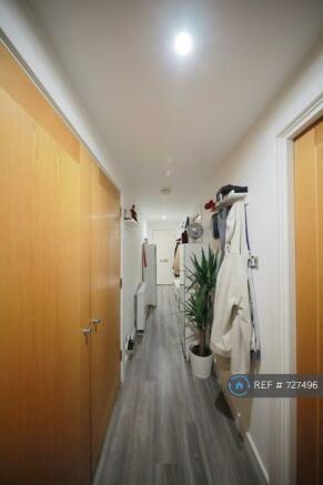 Corridor Separating Each Room, Quiet