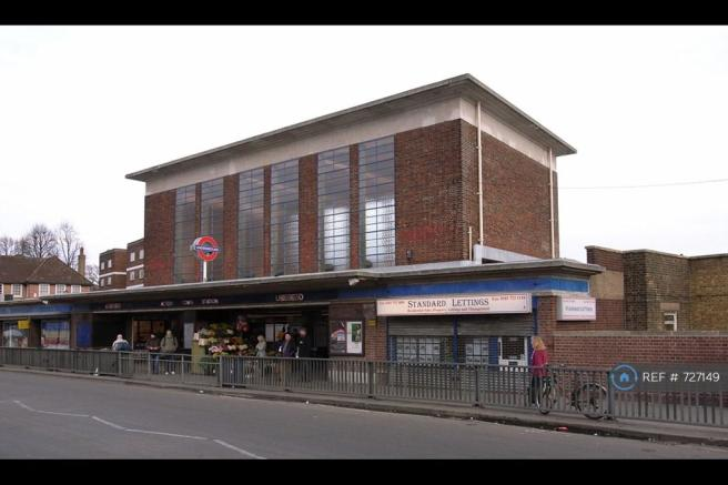 Acton Town Train Station