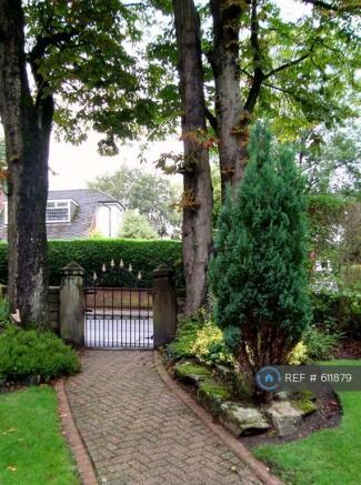 Street Entrance Into Garden