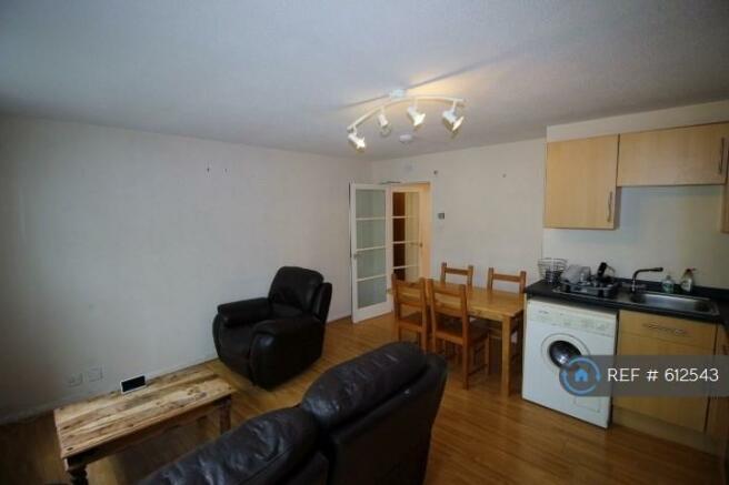Living Room/Kitchen (Alternative Angle)