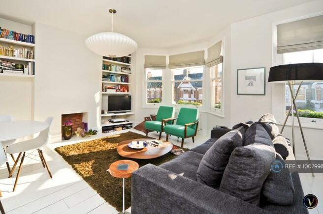 Open Plan Lounge, Opens Onto Kitchen