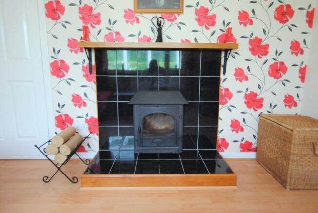 TV Room log burner