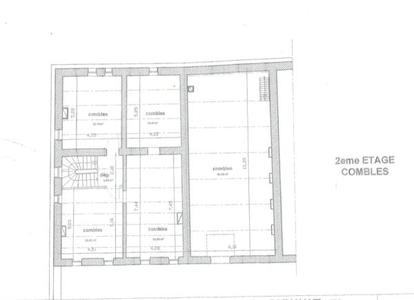 Floor plan, second