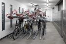 Bike store & lockers
