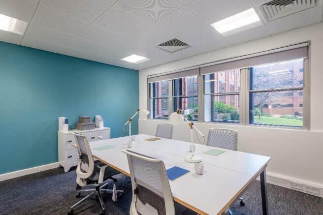 6 desk office
