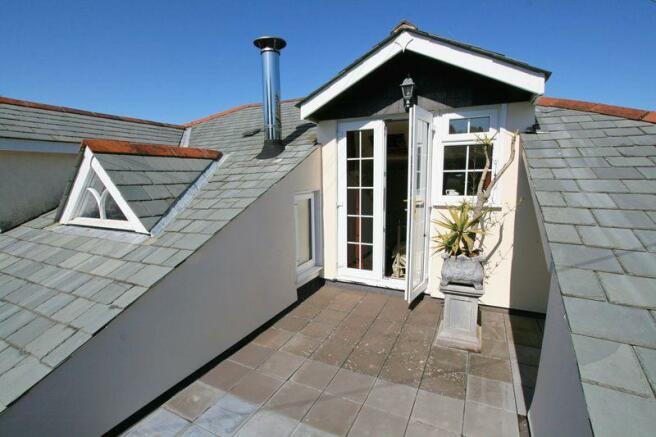 Bedroom 1 roof...