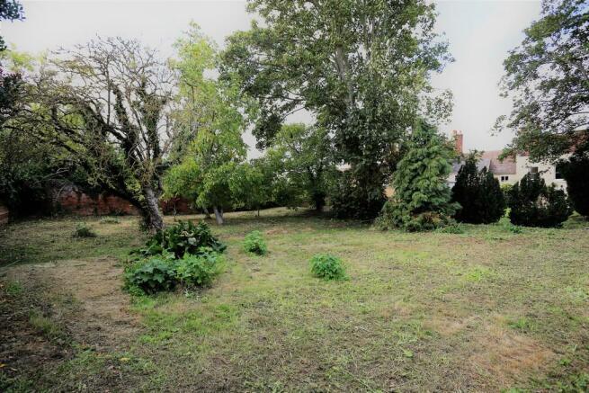 Far end of garden...