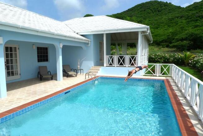 Pool & terracing