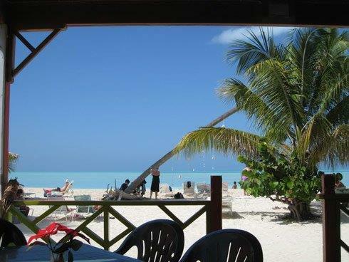 Local beach cafe