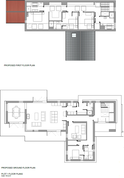 House 1 - Floor Plan