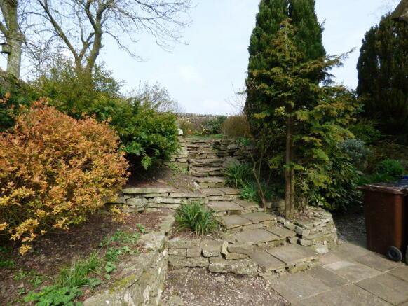 Rear Garden Steps