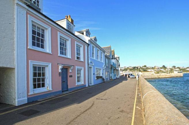 Towards the Quay