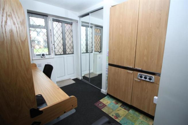 Open plan lounge and Kitchenette