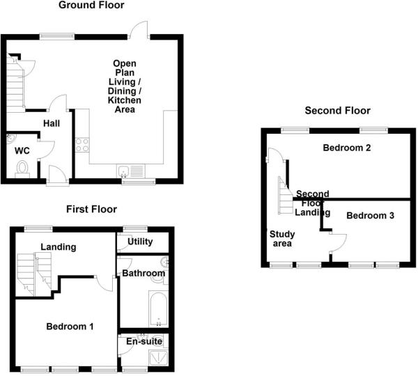 Plot 2,3,4,5,6 Court Mills, Polebarn Road, Trowbri