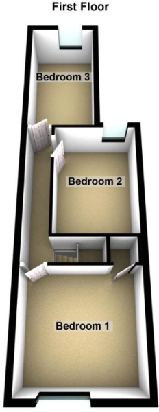 99 Queens Walk, Fletton - First Floor.png