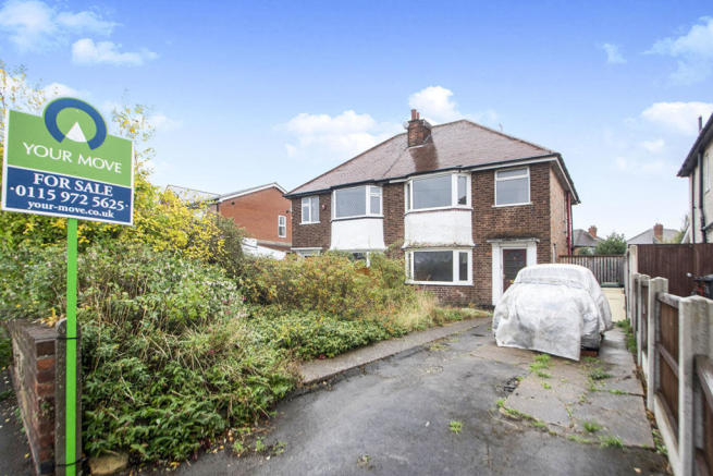 3 Bedroom Semi Detached House For Sale In Chetwynd Road Toton