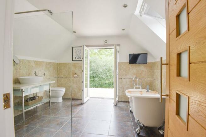 En-Suite Bathroom With Balcony