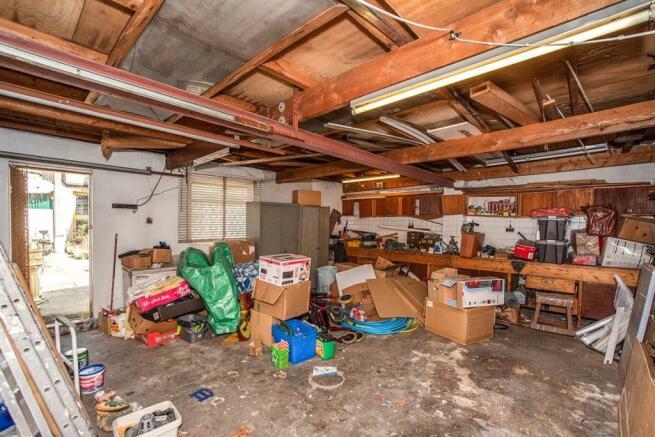 Rear Double Garage
