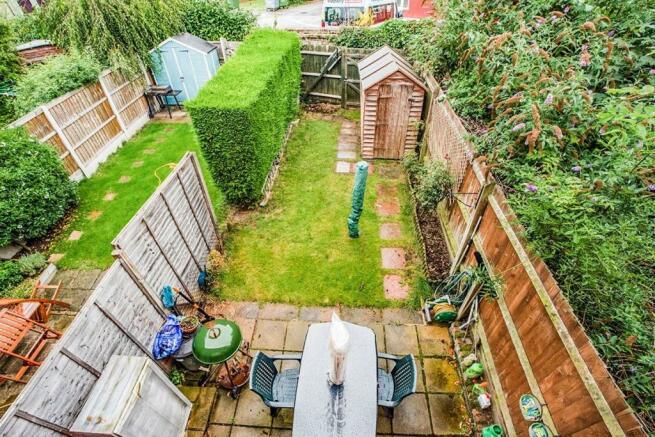 Aerial Garden Shot
