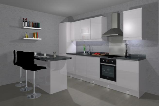Lounge / Kitchen