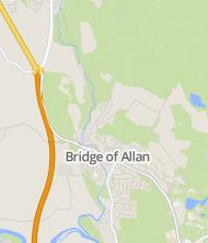bridge of allan postcode