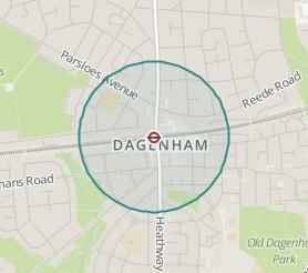 House Prices Around Dagenham Heathway Station