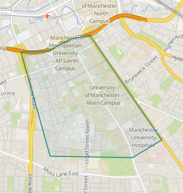 University Of Manchester Campus Map.Properties To Rent In University Of Manchester Flats Houses To