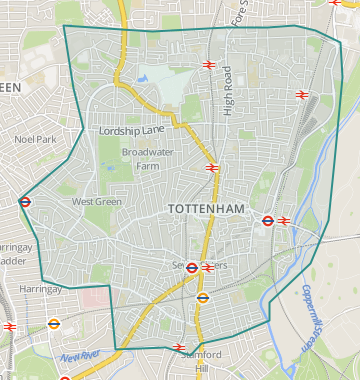 Tottenham London Map.Properties For Sale In Tottenham Flats Houses For Sale In