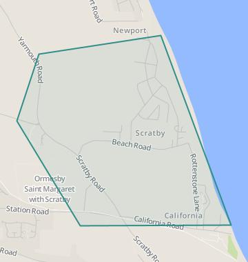 Norfolk California Map.Properties For Sale In Scratby Flats Houses For Sale In Scratby