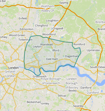 London East Map.Properties For Sale In East London Flats Houses For Sale In East