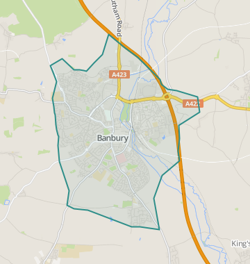 Banbury England Map.Properties For Sale In Banbury Flats Houses For Sale In Banbury
