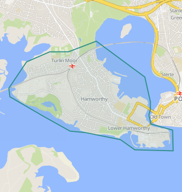 Poole England Map.Properties For Sale In Hamworthy Flats Houses For Sale In