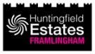 Huntingfield Estates, Framlingham Logo