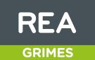 REA, Grimes, Fitzwilliam Square, Dublin Logo
