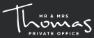 Mr & Mrs Thomas Private Office, France Logo
