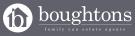 Boughtons Family Run Estate Agents, Brackley Logo